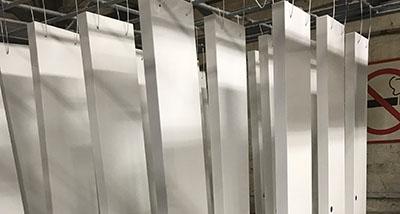 Полимерно-порошковая покраска корпусов светильников